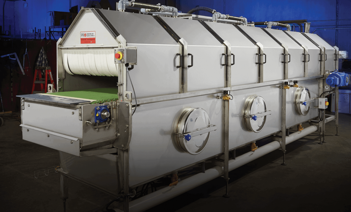 PRO Engineering / Manufacturing Inc. Small Tunnel Pasteurizer