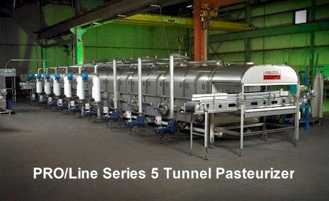 PRO/Line Series 5 Tunnel Pasteurizer